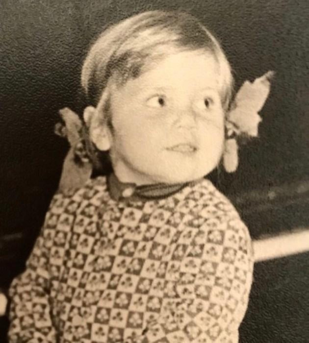 Марина Федункив в детстве. / Фото: www.instagram.com