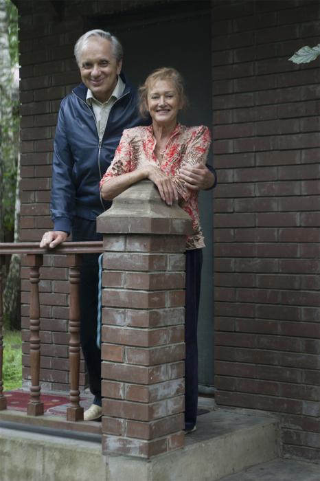 Евгений Стеблов с женой Татьяной. / Фото: www.aif.ru