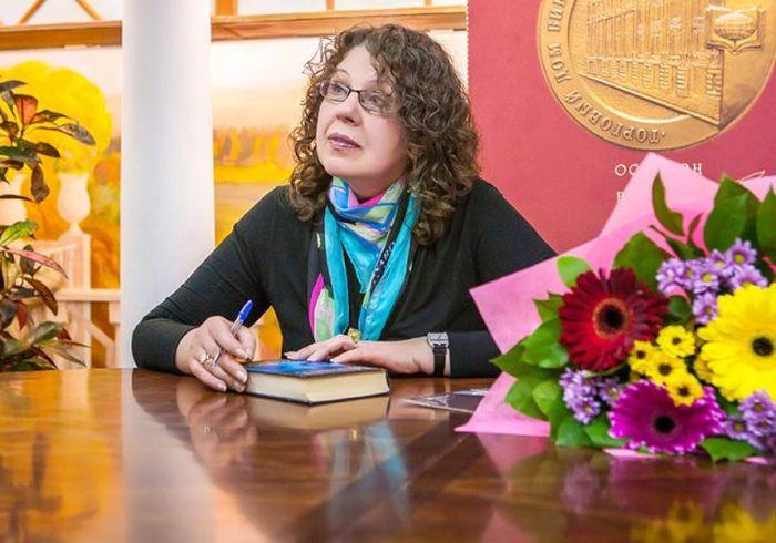 Александра Маринина. / Фото: www.rutube.ru