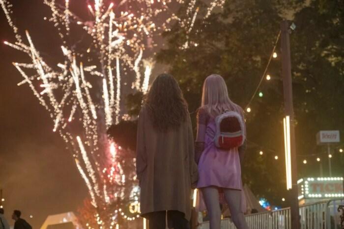 Кадр из сериала «Эйфория» . / Фото: www.kinopoisk.ru