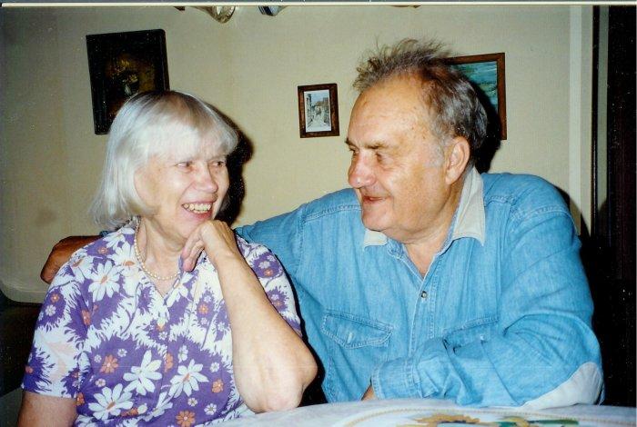 Эльдар Рязанов и Зоя Фомина. / Фото: www.csdfmuseum.ru