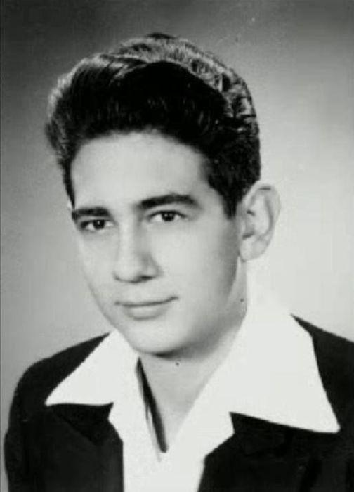 Пласидо Доминго в юности. / Фото: www.pinterest.ca
