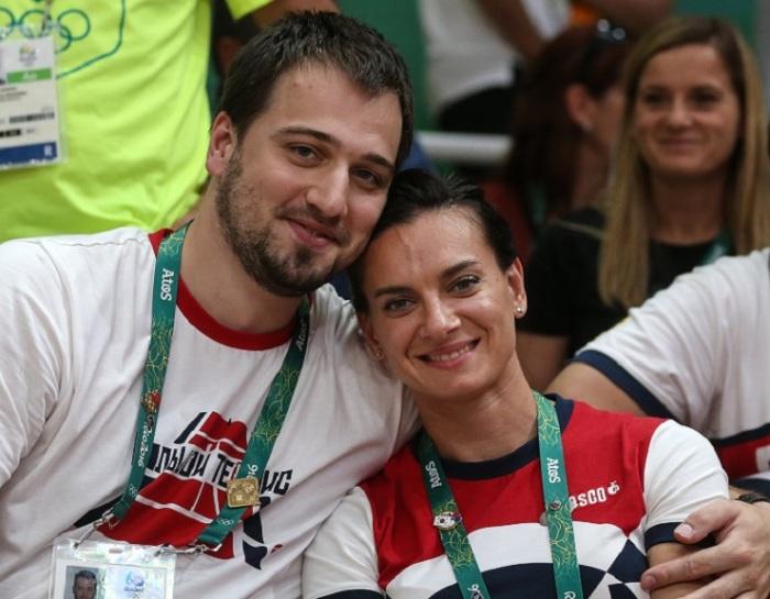 Елена Исинбаева и Никита Петинов. / Фото: www.cosmopolitan.ru