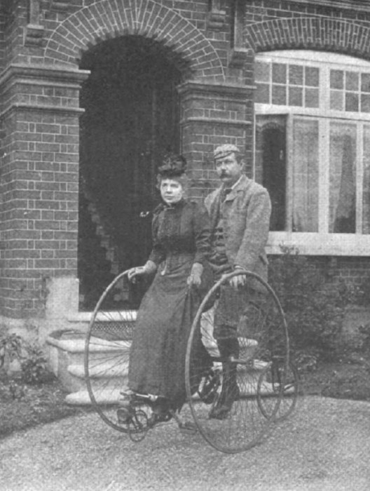 Артур Конан Дойл и его жена Луиза, 1892 год. / Фото: www.arthur-conan-doyle.com