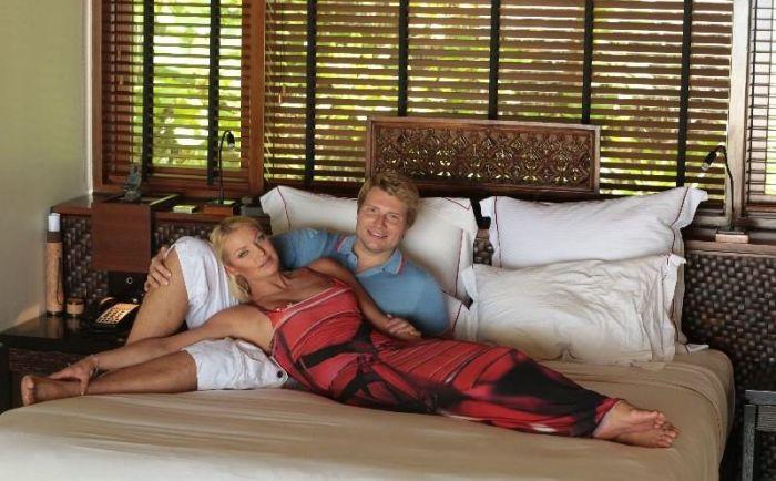 Анастасия Волочкова и Николай Басков. / Фото: www.onlynew.info