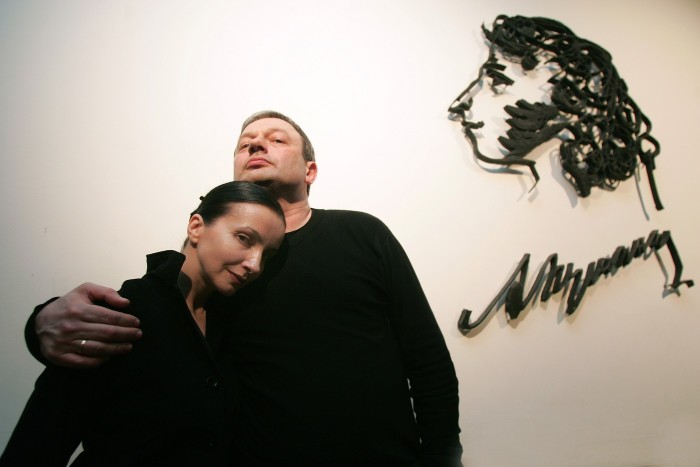 Алла Сигалова и Роман Козак. / Фото: www.woman.ru