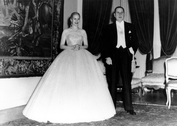 Эва Дуарте и Хуан Перон. / Фото: www.cnngreece.gr