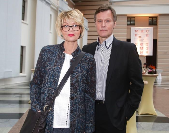 Юлия Меньшова и Игорь Гордин. / Фото: www.sm-news.ru