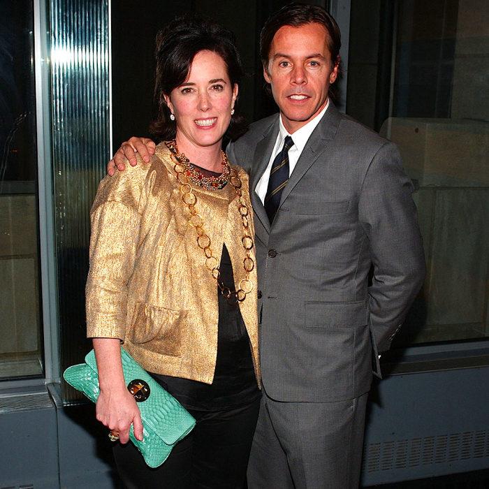 Кейт и Энди Спейд. / Фото: www.glamour.ru