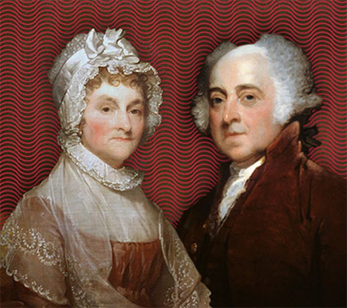 Джон и Эбигейл Адамс. / Фото: www.montereyart.org
