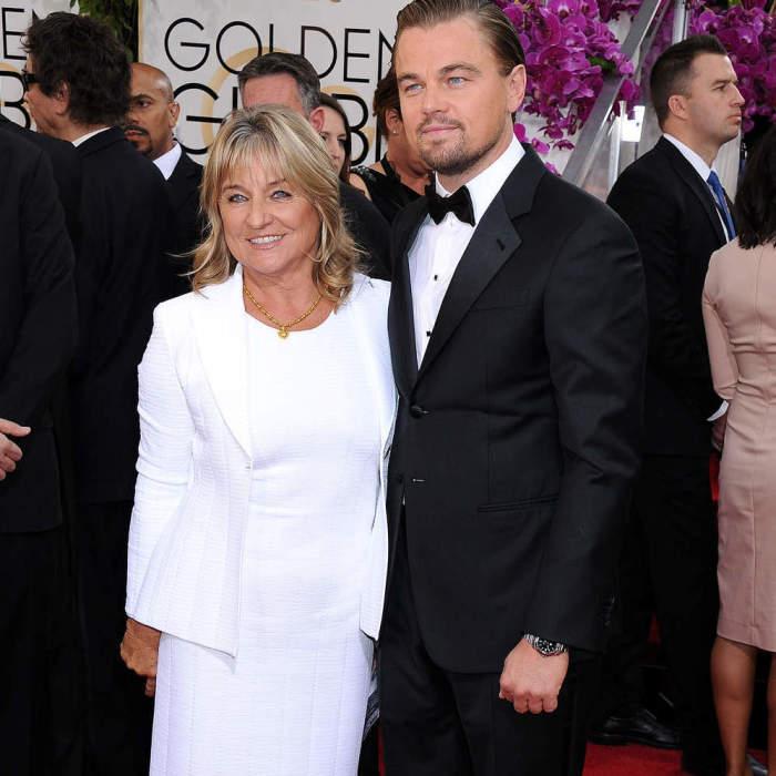 Леонардо Ди Каприо с мамой. / Фото: www.womanadvice.ru