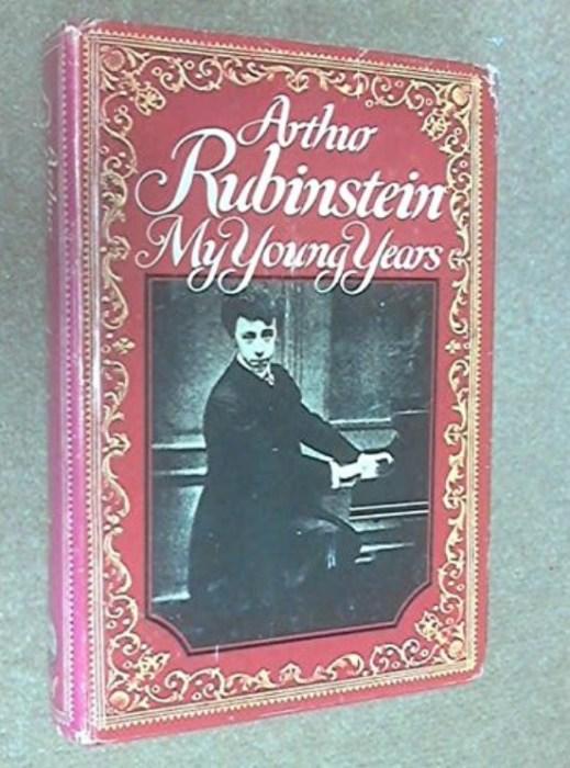 «Мои молодые годы», Артур Рубинштейн. / Фото: www.abebooks.com