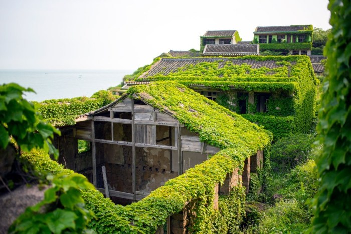 Рыбацкое поселение Houtouwan в Китае. / Фото: www.adsttc.com