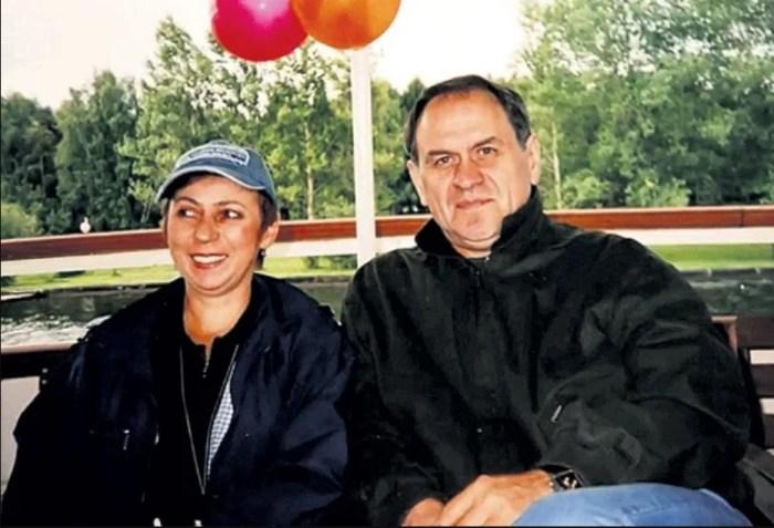 Валерий Афанасьев с женой Анной. / Фото: www.yandex.net