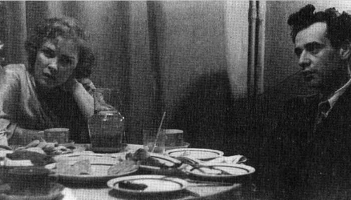 Лев Ландау и Кора Дробанцева, 1940. / Фото: www.liveinternet.ru