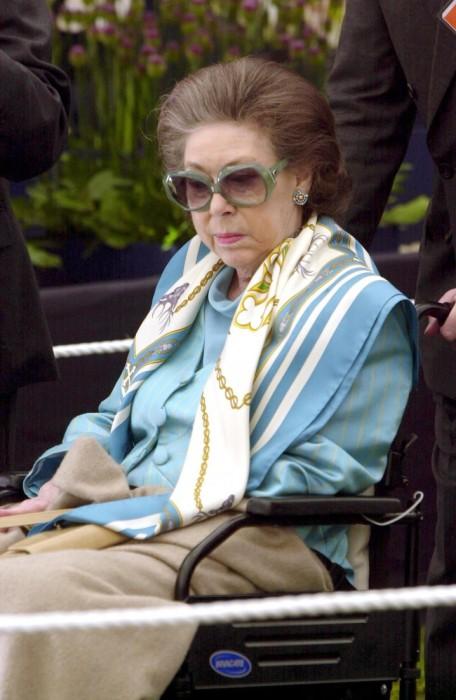 Принцесса Маргарет в последние годы жизни. / Фото: www.woman.ru