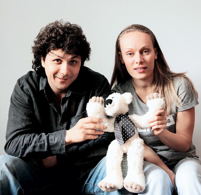 Ольга Ломоносова и Павел Сафонов. / Фото: www.agallery.ru