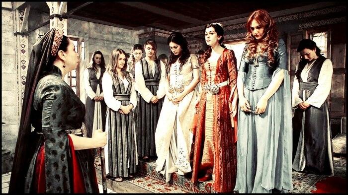 Кадр из сериала «Великолепный век». / Фото: www.yandex.net