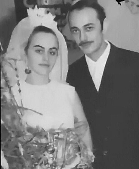 Алла Данько с первым мужем Александром. / Фото: www.russia.tv