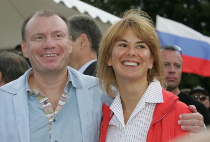 Владимир и Наталья Потанины. / Фото: www.woman.ru