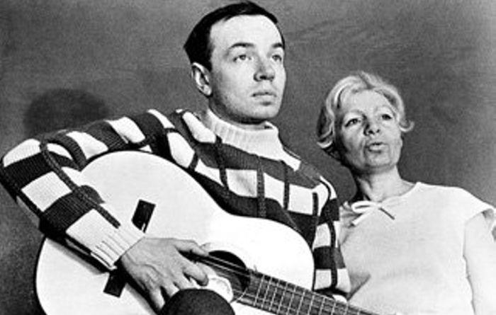 Андрей Вознесенский и Зоя Богуславская. / Фото: www.culture.ru