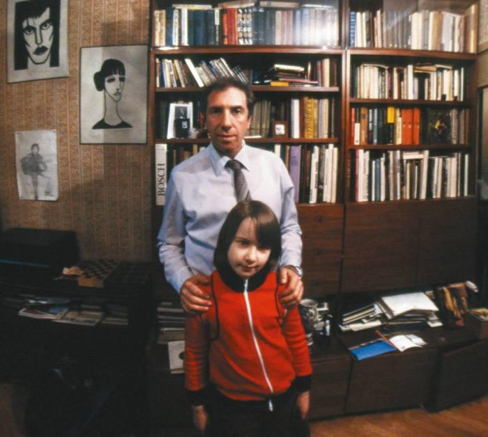 Дарья Юрская с отцом. / Фото: www.tele.ru
