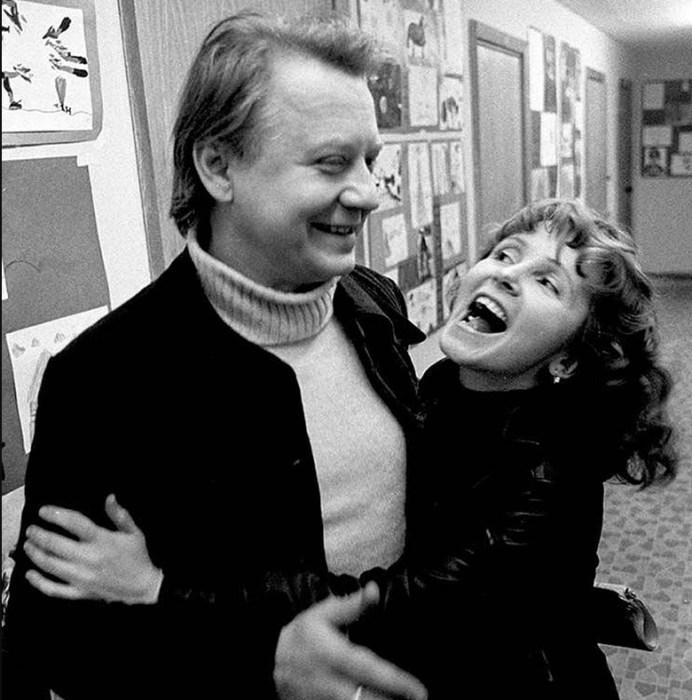 Олег Табаков и Людмила Крылова. / Фото: www.delaynews.ru