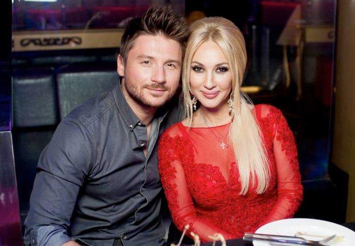 Лера Кудрявцева и Сергей Лазарев. / Фото: www.star-magazine.ru