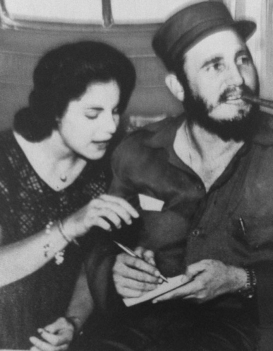 Марита Лоренц и Фидель Кастро. / Фото: www.afamilycdn.com