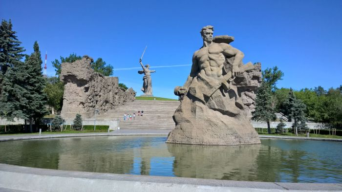 Мемориальный комплекс «Героям Сталинградской битвы». / Фото: www.lookmytrips.com