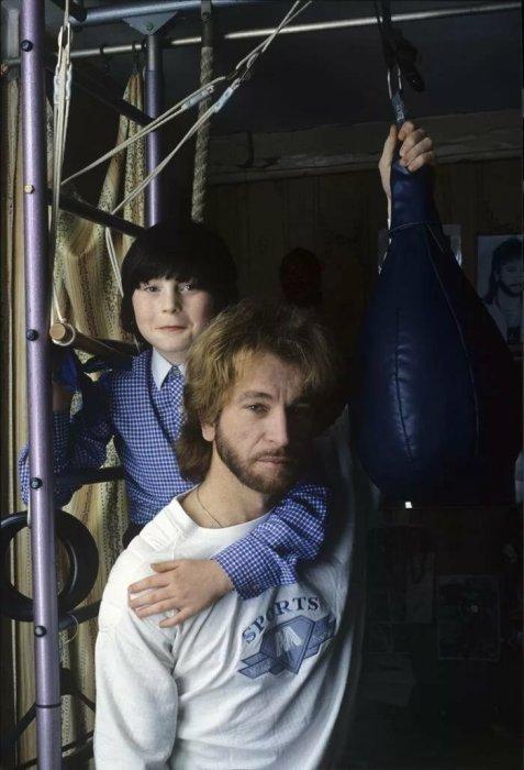 Игорь Тальков с сыном. / Фото: www.yandex.net