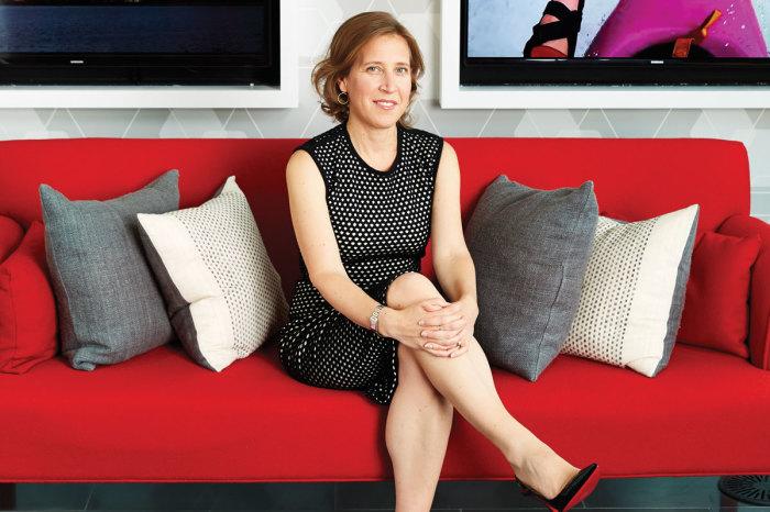 Сьюзен Войжитски, генеральный директор YouTube. / Фото: www.the-femme.com