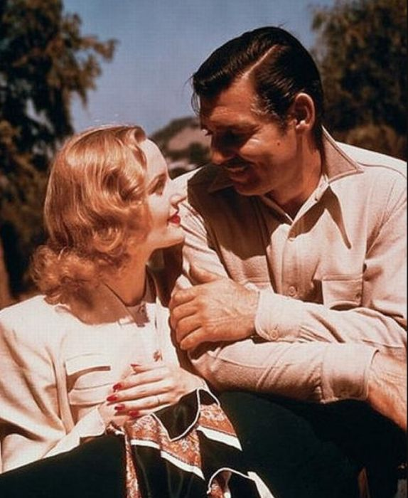 Кларк Гейбл и Кэрол Ломбард. / Фото: www.bashny.net