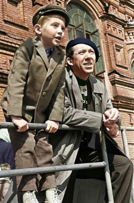 Юрий Никулин с сыном. / Фото: www.elot.ru