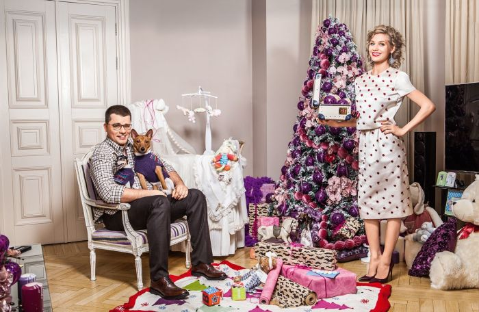 Кристина Асмус и Гарик Харламов. / Фото: www.ok-magazine.ru
