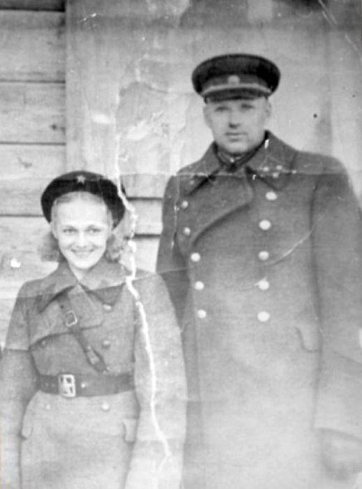 Константин Рокоссовский и Галина Таланова. / Фото: www.rtr-vesti.ru