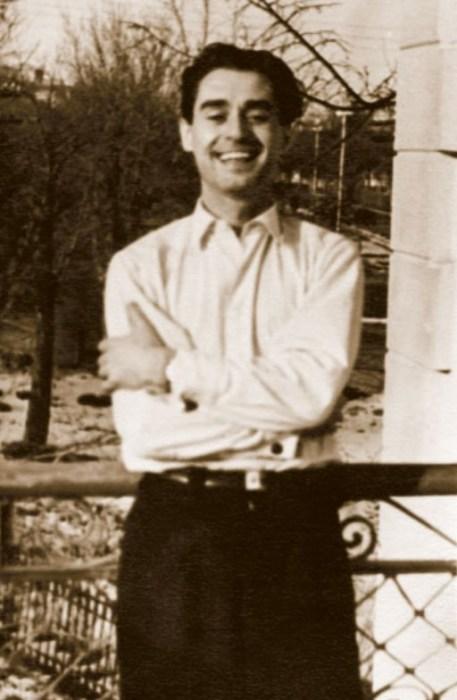Андрей Дементьев в юности. / Фото: www.libmir.com