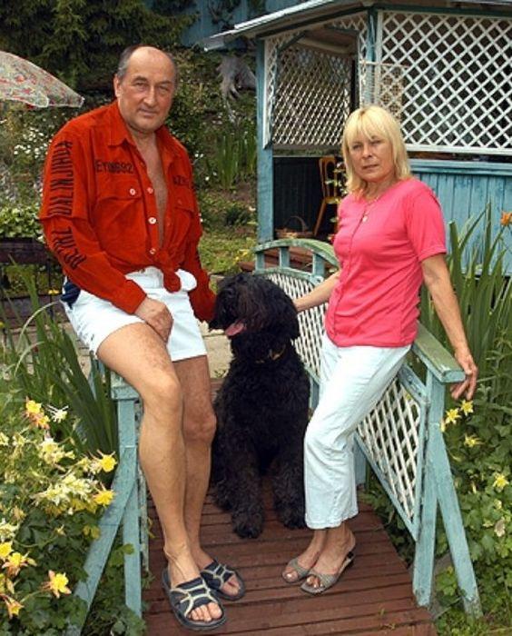 Картинки по запросу борис клюев с женой