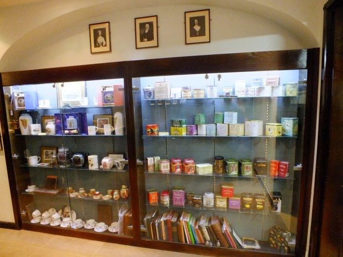 Чайный магазин Twinings. / Фото: www.ayda.ru