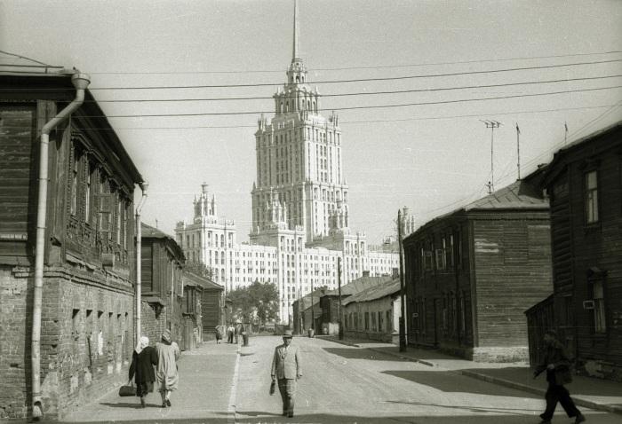 Москва, конец 1950-х. / Фото: www.livejournal.com