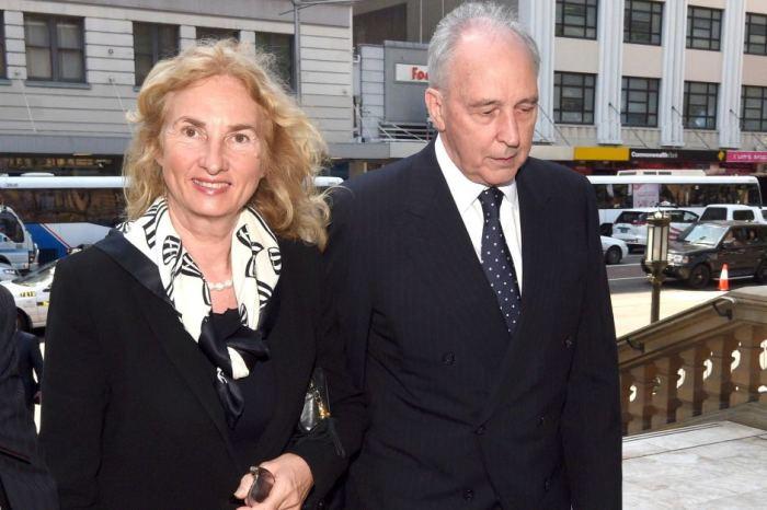 Пол Китинг и Аннита ван Лерсел. / Фото: www.abc.net.au
