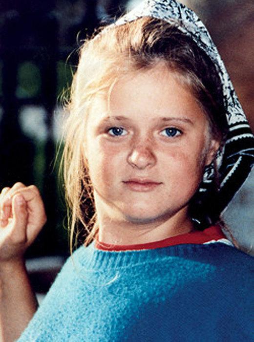 Анна Михалкова в детстве. / Фото: www.ladysovet.ru