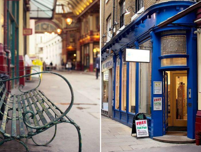 Leadenhall Market, оптика. / Фото: www.blogspot.com