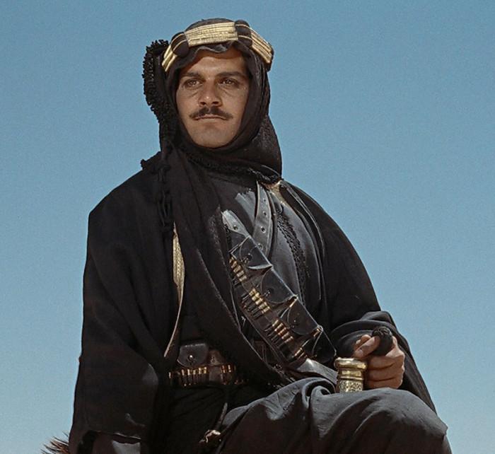 Омар Шариф, кадр из фильма «Лоуренс Аравийский». / Фото: www.evanerichards.com