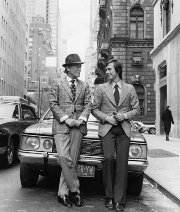 Альдо Гуччи и Маурицио Гуччи в Нью-Йорке. / Фото: www.volnamag.ru