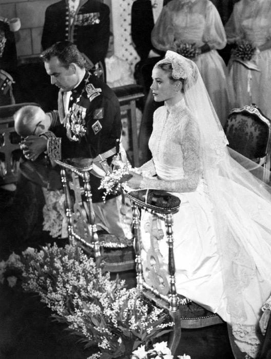 Грейс Келли и князь Монако Ренье III. / Фото: www.livejournal.com
