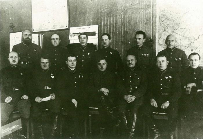 Совещание у главнокомандующего советскими военными округами. / Фото: www.wikimedia.org