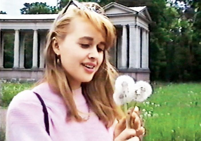 Анастасия Заворотнюк в юности. / Фото: www.7days.ru