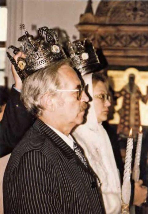 Обвенчаются Василий и Елена Ливановы лишь через четверть века после официальной регистрации брака. / Фото: www.itexts.net