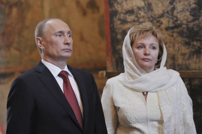 Владимир и Людмила Путины. / Фото: www.ibtimes.co.uk